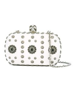 Alexander McQueen | Skull Box Clutch Leather/Metal Other
