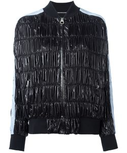 Versace | Ruched Bomber Jacket Size