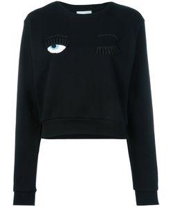 Chiara Ferragni | Wink Patches Sweatshirt Xs Cotton/Acrylic