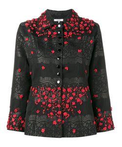 Ganni | Auburn Jacquard Jacket 40 Rayon/Lurex/Polyamide/Polyester