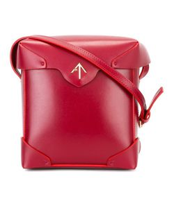 Manu Atelier | Fold-Over Closure Crossbody Bag Calf Leather