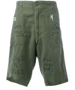 HTC Hollywood Trading Company | Graffiti Cargo Shorts Xl