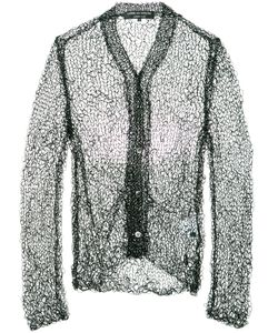 COMME DES GARCONS HOMME PLUS | Comme Des Garçons Homme Plus Open Knit Buttoned Cardigan