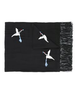 The Kooples | Embroidered Bird Scarf