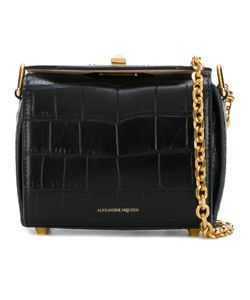 Alexander McQueen | Crocodile Embossed Box Bag 15
