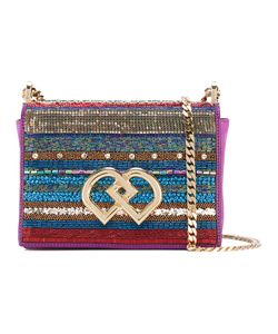 Dsquared2 | Medium Dd Sequin Crossbody Bag Silk/Goat