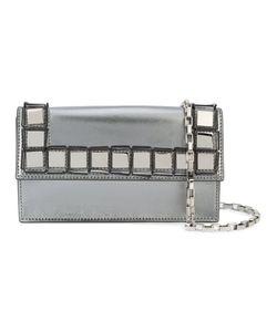 TOMASINI | Clutch Bag With Square Appliqué Details Women