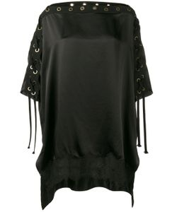 Faith Connexion   Boat Neck Blouse With Eyelet Detailing