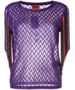 Missoni | Fringed Trim Sweatshirt Size 42