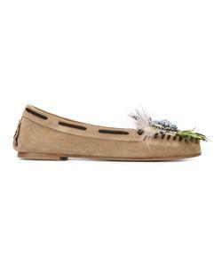 Miu Miu | Embellished Loafers Size 36