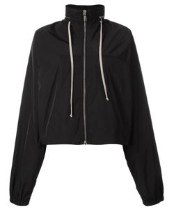 Rick Owens | Cropped Windbreaker 42 Polyester/Cotton/Cupro
