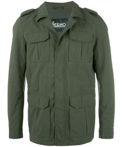 Herno | Multiple Pockets Military Jacket 50 Polyamide/Polyester