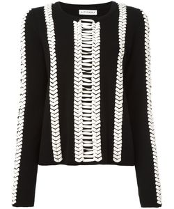 Altuzarra | Contrast Jumper Medium Wool/Leather