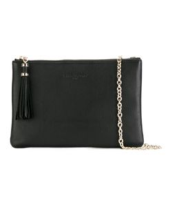 Lancaster | Embossed Logo Clutch Bag Calf Leather