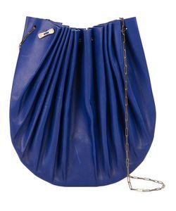 MA+   Chain Strap Shoulder Bag Leather