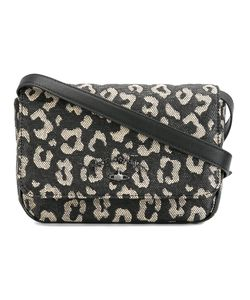 Vivienne Westwood Anglomania | Leopard Print Crossbody Bag Calf Leather/Straw