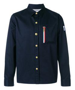 Moncler Gamme Bleu | Рубашка С Карманом На Молнии