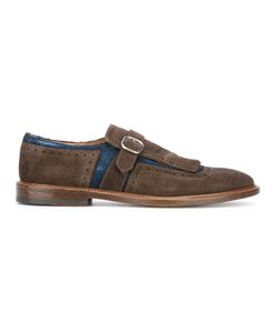 Doucal's | Fringed Buckle Loafers 43.5 Leather