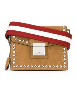 Bally | Stud Detail Shoulder Bag