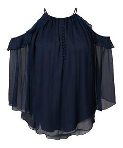 Rachel Zoe | Блузка С Открытыми Плечами И Оборками