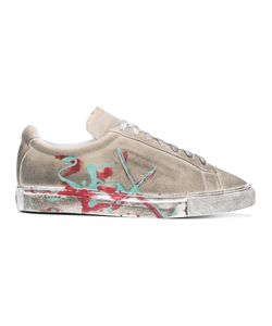XANDER ZHOU | Distressed Painted Trainers