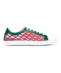 GIANNICO | Lips Panel Sneakers Size 36