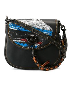 COACH | Sequined Detail Satchel Calf Leather