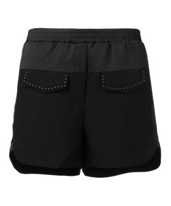 8pm   Stud Detail Shorts Small Polyester