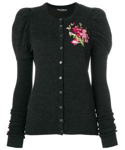 Dolce & Gabbana | Кардиган С Цветочной Вышивкой