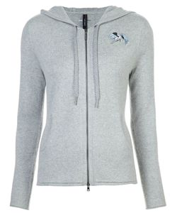 Marc Cain | Embroidered Zipped Hoodie Women