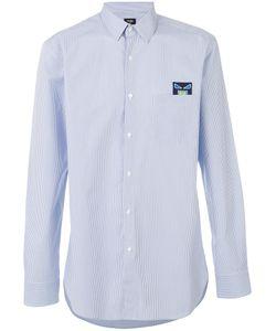 Fendi | Рубашка Bag Bugs С Вышитой Заплаткой