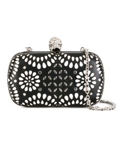 Alexander McQueen | Skull Box Clutch Calf Leather