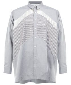 08SIRCUS | Contrast Panel Shirt 6 Cotton