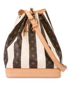 LOUIS VUITTON VINTAGE | Striped Monogram Shoulder Bag