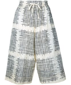TOOGOOD | Checked Cropped Trousers 1