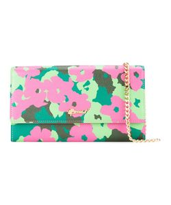 Muveil | Print Chain Wallet Leather