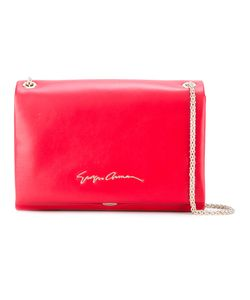 Giorgio Armani | Logo Shoulder Bag Lamb Skin/Polyester