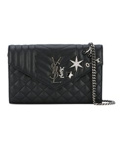 Saint Laurent | Star Embellished Clutch Bag