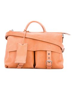 Marsell | Marsèll Buckled Satchel Linen/Flax/Leather/Metal Other
