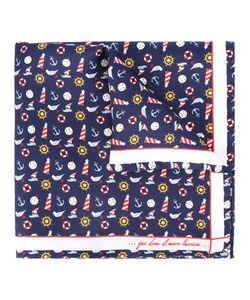 Fefè | Nautical Print Pocket Square