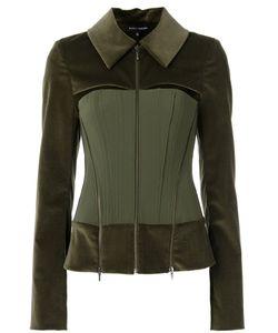 GLORIA COELHO | Panelled Jacket 38 Cotton/Elastodiene