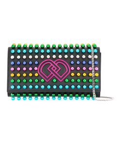 Dsquared2 | Studded Dd Clutch Bag Leather/Plastic/Metal