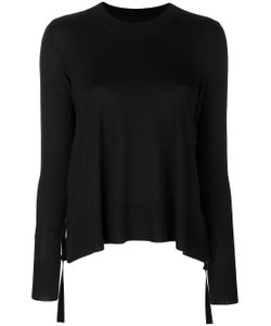 MM6 by Maison Margiela | Curved Hem Knitted Jumper