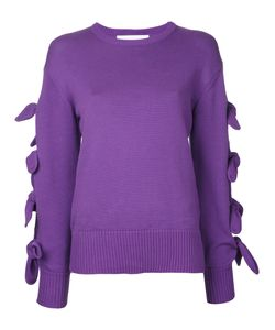 LE CIEL BLEU | Tied Up Sleeves Jumper Size