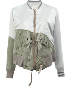 GREG LAUREN | Tent Flight Jacket 0 Cotton/Satin