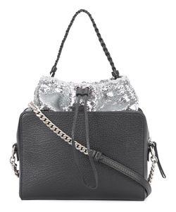 Maison Margiela   Sequin Embellished Shoulder Bag Calf Leather/Cotton/Polyester/Polyamide