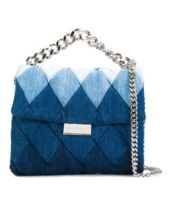 Stella Mccartney | Patchwork Denim Shoulder Bag Cotton