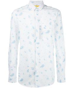 Journal | Water Drops Print Shirt Small Cotton