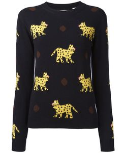 Chinti And Parker | Leopard Pattern Jumper Size Large