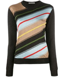 Marco De Vincenzo | Striped Jumper Womens Size 38 Polyester/Polyamide/Acetate